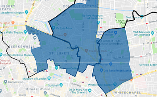 ZEN City Fringe Map