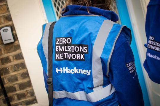 Zero Emissions Network door stepper
