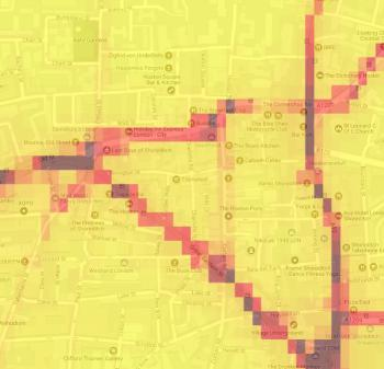 Pollution in shoreditch