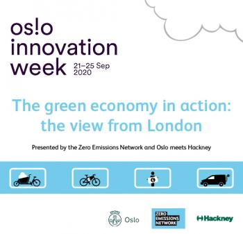 Image promoting Oslo Innovation Week (Zero Emissions Network)